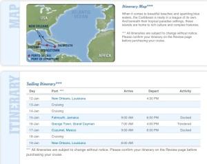 January 2013 Cruise