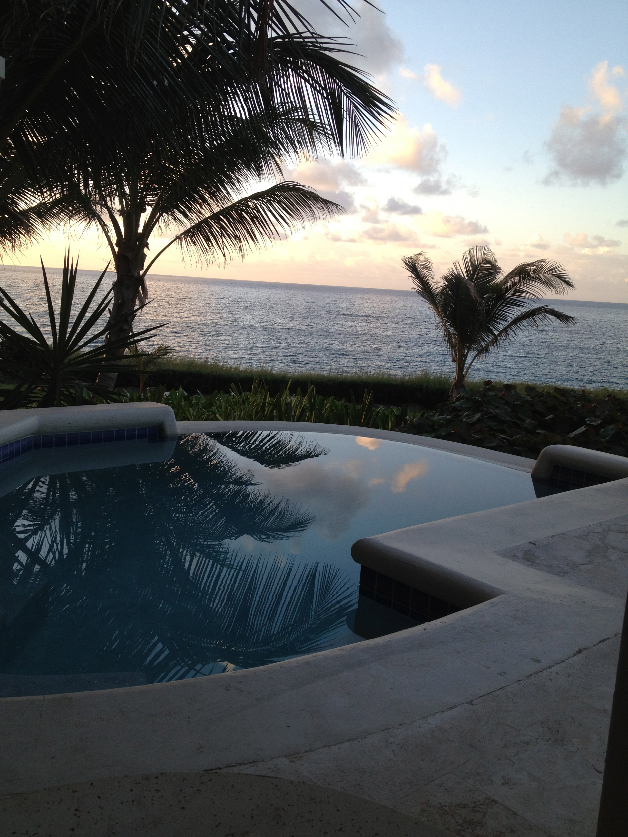 Sunrise at The Crane, Barbados