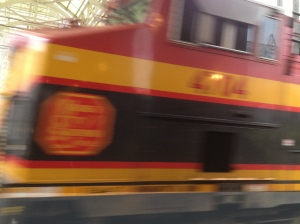 Kansas City Southern.  Too close for comfort!