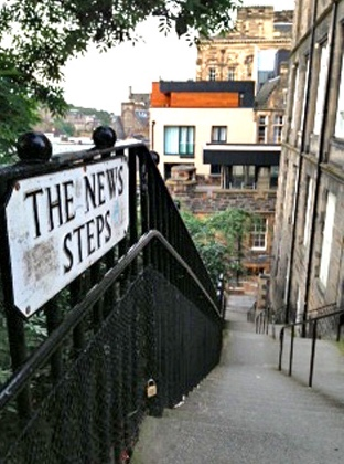 news-steps