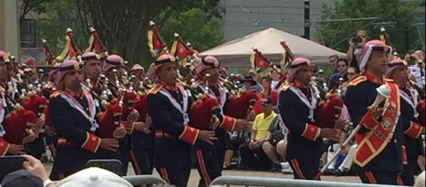 Jordanian Armed Forces Bagpipe Band